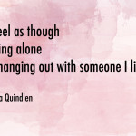 Hello Anna Quindlen