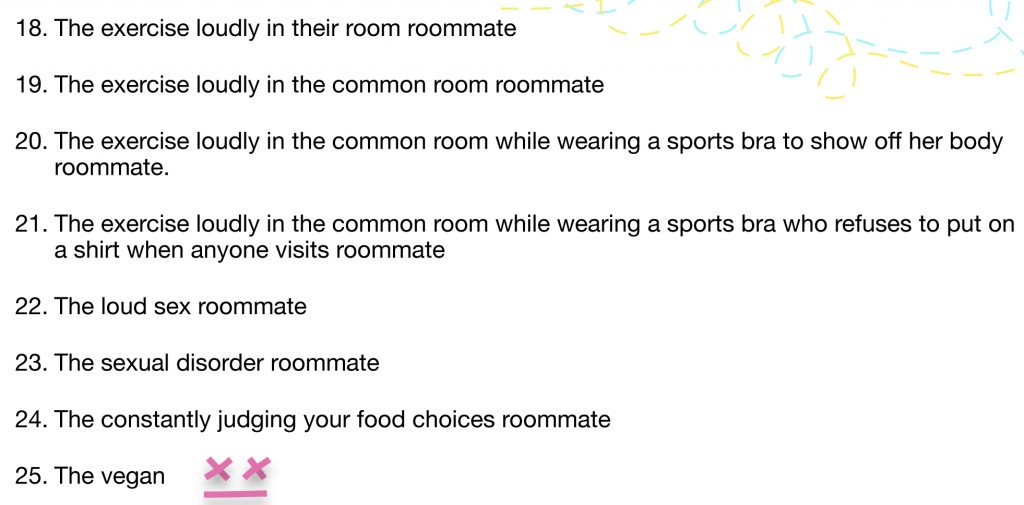 Roommates List 1.4